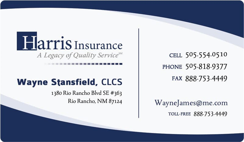 line Business Cards Templates Insurance Business Card