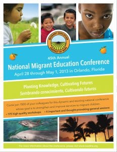 National Migrant Education Conference Cover