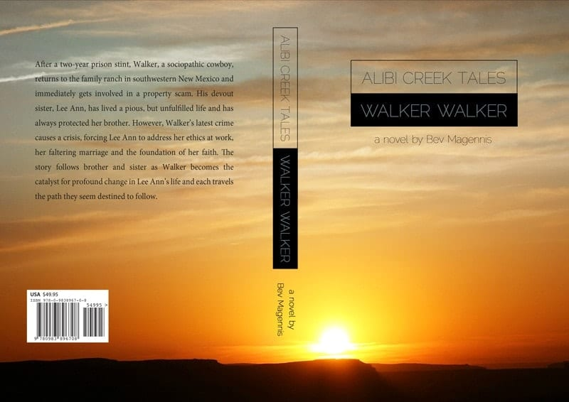 Graphic Design - Walker Walker Book Cover