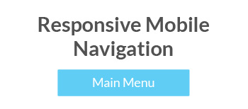 CSS-Only Responsive, Mobile Navigation Tutorial