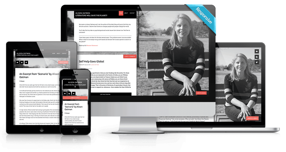 WordPress Genesis Website Theme Customization - Alison Oatman