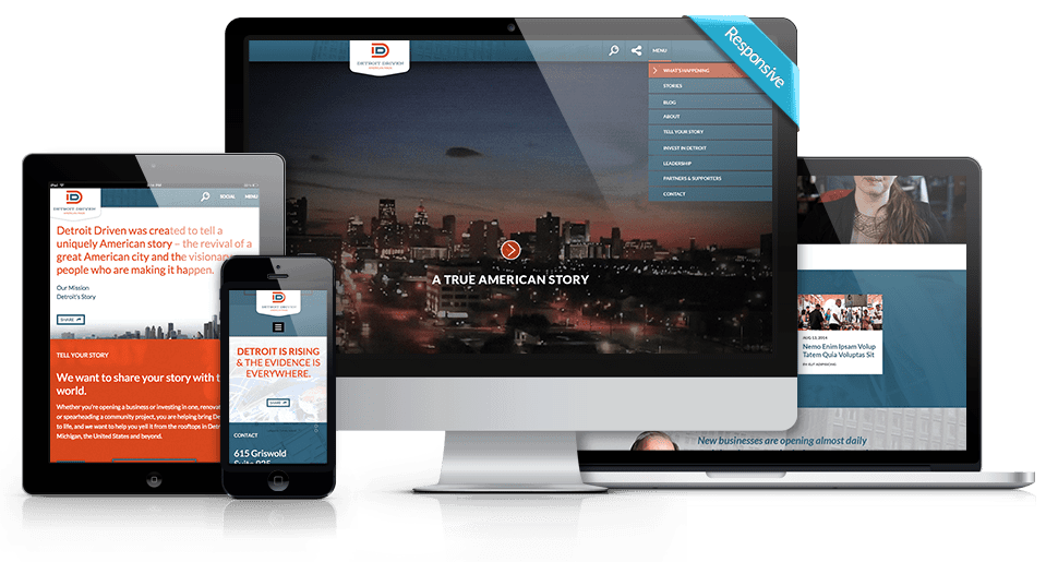 WordPress Website Development - Detroit Driven - V2
