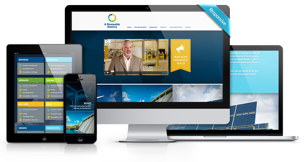 A Renewable America - Custom WordPress Website Development