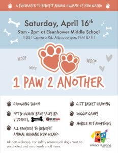 1 Paw 2 Another Flyer