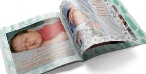 BabyPage Open Baby Book