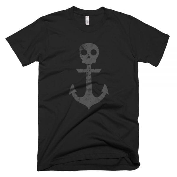 Anchor Skull T-Shirt (Black)