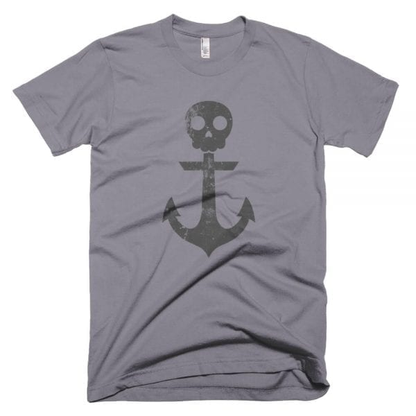 Anchor Skull T-Shirt (Slate)