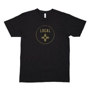 Local: Zia New Mexico T-shirt (Black)
