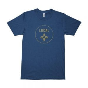 Local: Zia New Mexico T-shirt (Galaxy)