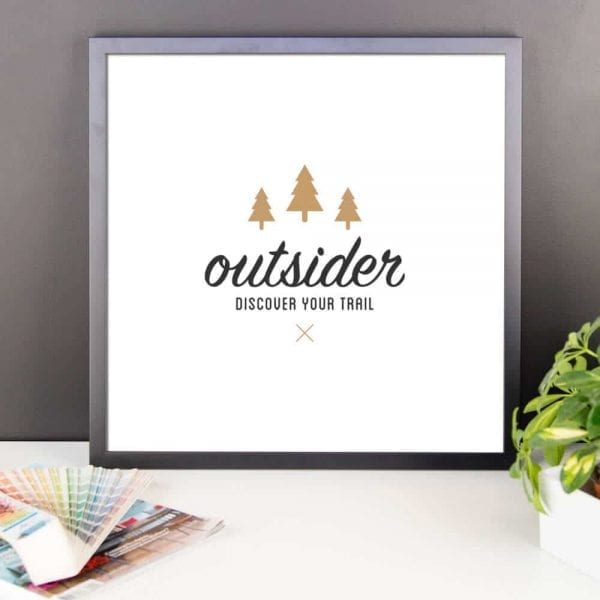 Outsider: Discover Your Trail - Wall Art 18x18