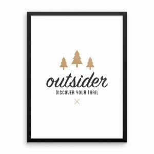 Outsider: Discover Your Trail - Wall Art 18x24