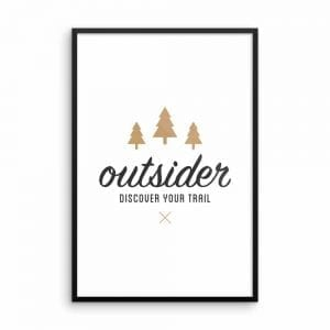 Outsider: Discover Your Trail - Wall Art 24x36