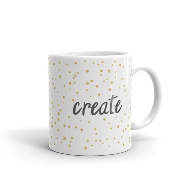 A mug for that special creative person in your life.