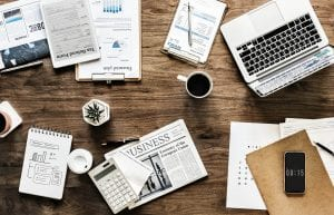 Office space working on building your brand